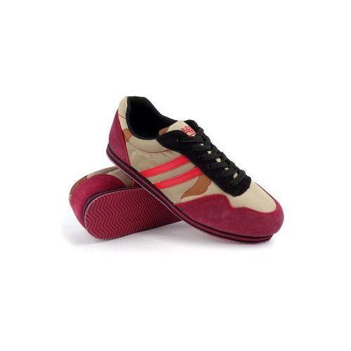 buty Double Red Camo Bordeaux Sneakers (4881603100030)
