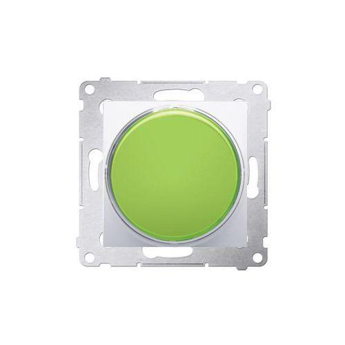Sygnalizator podtynkowy Kontakt-Simon 54 DSS3.01/11 świetlny LED - światło zielone biały