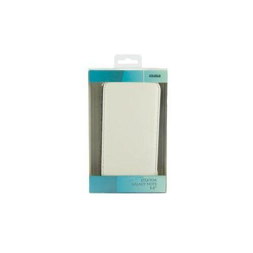 4World Eko skóra Samsung Galaxy Note II Biały 9131 Darmowy odbiór w 16 miastach!, 09131