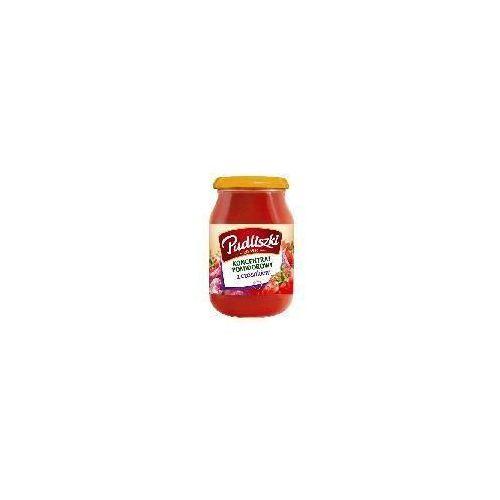 Koncentrat pomidorowy z czosnkiem 200 g Pudliszki - produkt z kategorii- Przetwory warzywne i owocowe