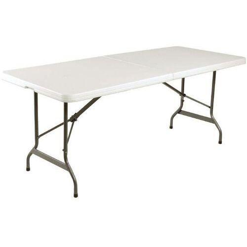 Stół składany biały | 183x76,2x(h)73,5cm marki Bolero