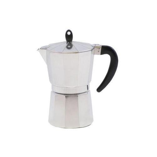 Kawiarka ciśnieniowa aluminiowa VENETTO - kafetiera na 7 filiżanek espresso - rabat 10 zł na pierwsze zakupy! (5907558708103)