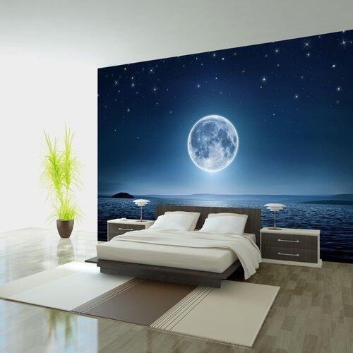 Fototapeta - księżycowa noc