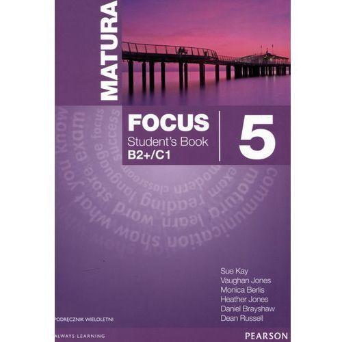 Matura Focus 5 podręcznik LO, oprawa miękka
