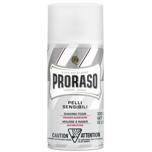 Proraso white shaving foam pianka do golenia, skóra wrażliwa 300ml