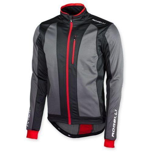 Bluza trani 2.0 czarno-czerwona marki Rogelli