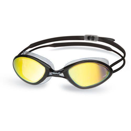 tiger race okulary pływackie mirrored liquidskin czarny 2018 okulary do pływania marki Head