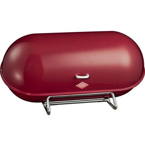 Pojemnik na pieczywo breadboy bordowy marki Wesco