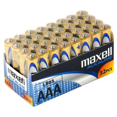 32 x bateria alkaliczna Maxell Alkaline LR03/AAA, LR03