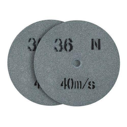 Tarcza do szlifowania - ziarnistość 36 - 200 x 20 mm - 2 szt. marki Msw