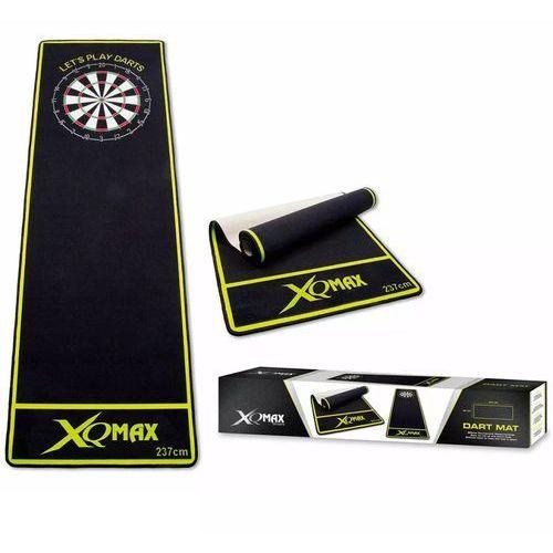XQmax Darts Mata do rzutek, 237x80 cm, zielona, QD2100010