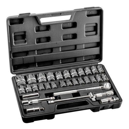 Zestaw kluczy nasadowych TOPEX 1/2 cala 38D631 (32 elementy)