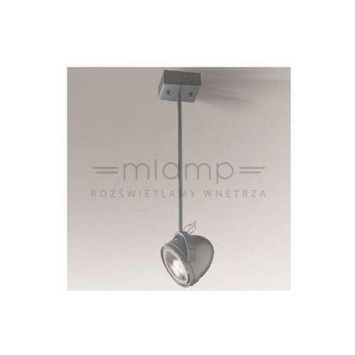 Shilo Plafon lampa sufitowa mutsu 2247/gu10/sz reflektorowa oprawa natynkowa szara