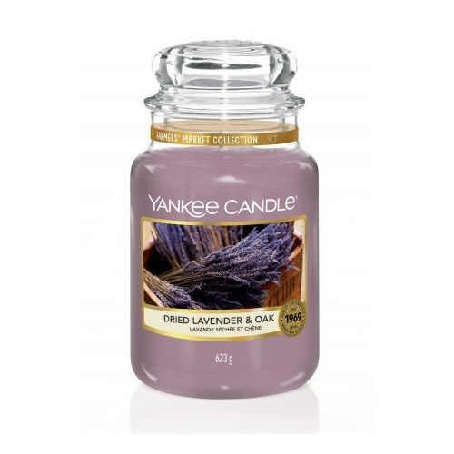 YANKEE CANDLE ŚWIECA DRIED LAVENDER& OAK 623G
