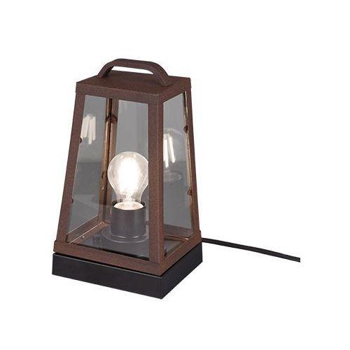 Trio arkansas 501360124 lampa stołowa zewnętrzna ogrodowa ip44 1x40w e27 miedziany
