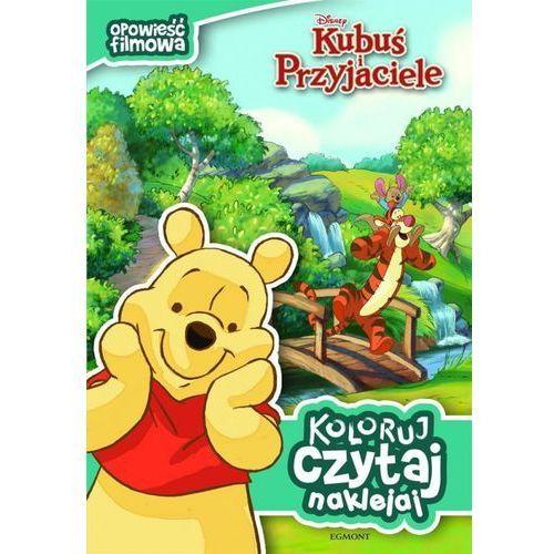 KUBUŚ PUCHATEK KOLORUJ CZYTAJ NAKLEJAJ (24 str.)