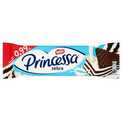 Wafel Princessa Zebra Kakaowy przekładany kremem mlecznym 37 g (7613034805874)