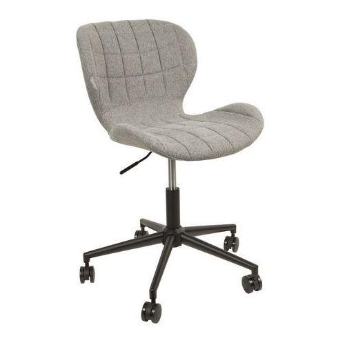 Zuiver :: krzesło biurowe omg jasnoszare - szary