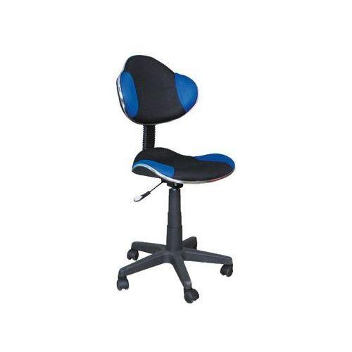 Signal meble Fotel q-g2 niebieski czarny