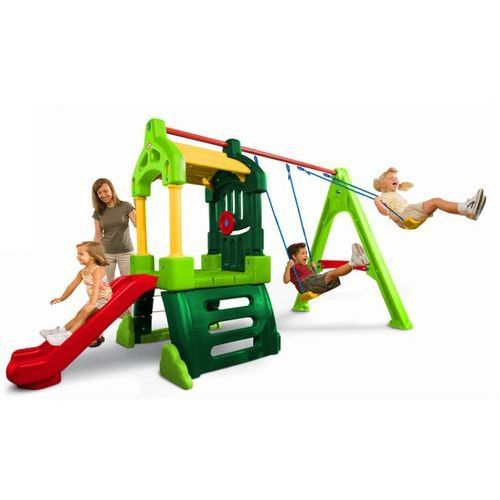 plac zabaw clubhouse natural marki Little tikes
