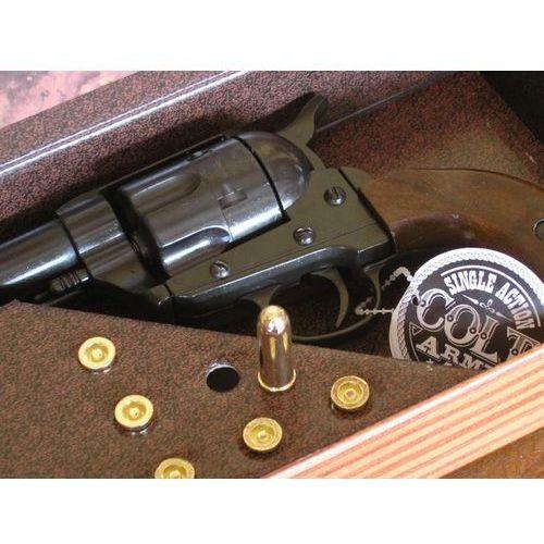 Cudny colt peace maker z 1873 roku w pudle - naboje replika broni (k1062-1w) marki Hiszpania