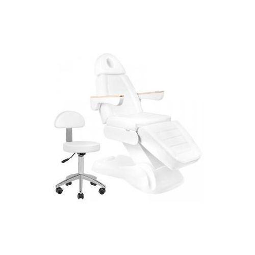 Elektryczny Fotel Kosmetyczny Lux 273b + Taboret 304 Basic Gratis (5906717417481)