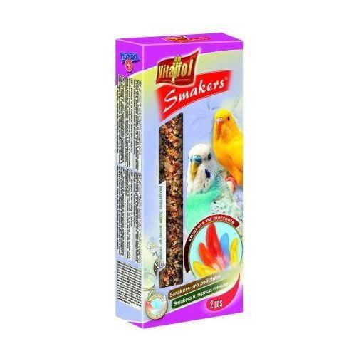 Vitapol Smakers na pierzenie kolby dla papużki falistej 2szt/90g, kup u jednego z partnerów