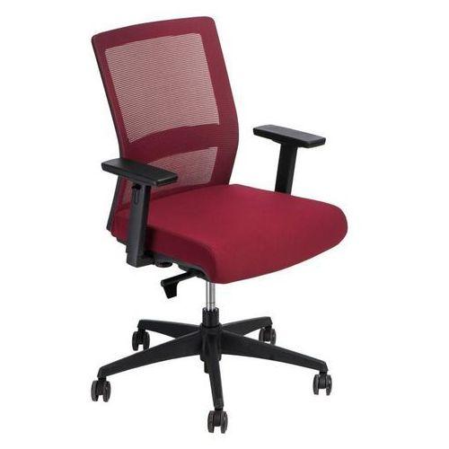 Fotel biurowy Press czerwony/czerwony (5902385728645)