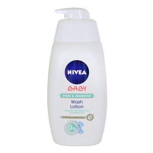 Nivea  baby pure & sensitive żel do mycia do twarzy, ciała i włosów (washing lotion) 500 ml