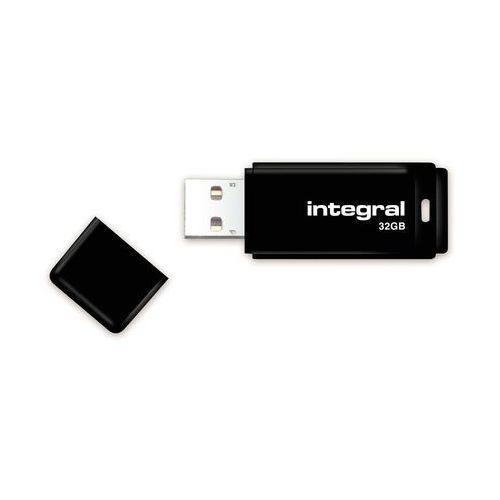 Pendrive Integral Czarny 32GB (INFD32GBBLK) Szybka dostawa! Darmowy odbiór w 20 miastach!