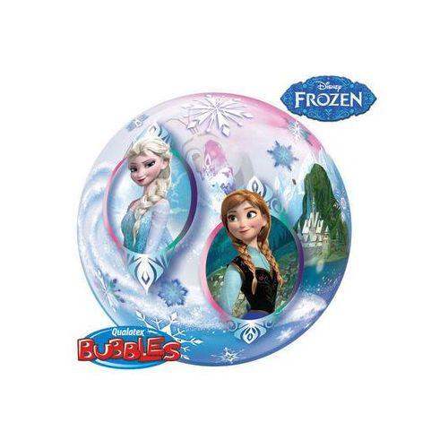 Balon foliowy bubble Frozen - Kraina Lodu - 56 cm