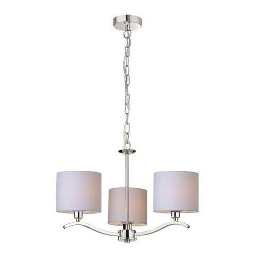 Lampa wisząca Zuma Line Carmen RLD94103-5 zwis 5x60W E14 chrom/beż >>> RABATUJEMY do 20% KAŻDE zamówienie (2011002893338)