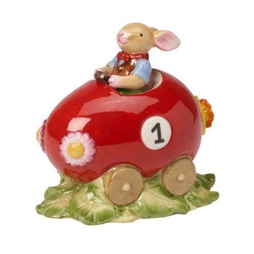 Villeroy & boch - bunny family figurka porcelanowa zajączek w samochodzie