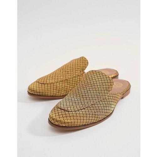 Kg by kurt geiger wide fit brocade slip on loafers - black, Kg kurt geiger