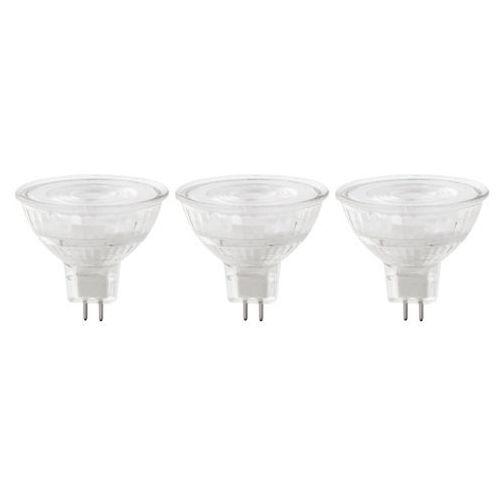 Żarówka LED Diall MR16/GU5.3 8 W 621 lm przezroczysta barwa neutralna 3 szt. (3663602668503)