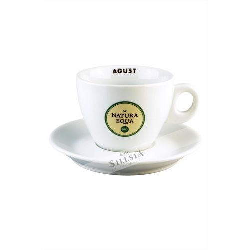 Agust Filiżanka cappuccino jumbo natura equa