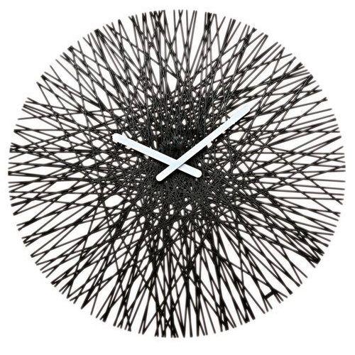 Zegar ścienny czarny silk marki Koziol