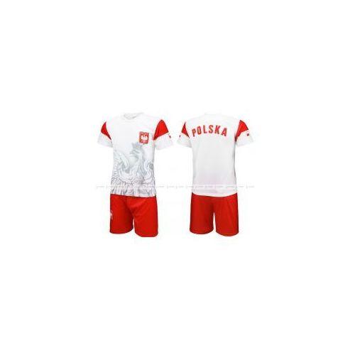 Orzeł Polska - strój sportowy komplet koszulka + spodenki BKS