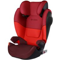 CYBEX fotelik samochodowy Solution M-Fix SILVER, Rumba Red (4058511136394)