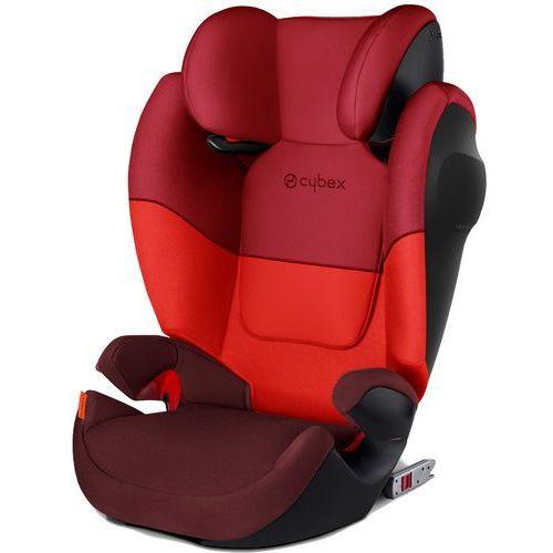 Cybex fotelik samochodowy solution m-fix silver, rumba red