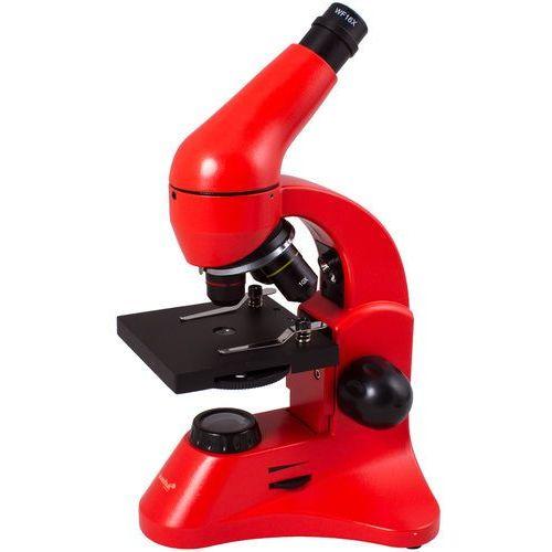 Mikroskop Levenhuk Rainbow 50L PLUS Pomarańczowy 69133 - odbiór w 2000 punktach - Salony, Paczkomaty, Stacje Orlen