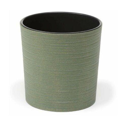 Doniczka plastikowa 30 cm zielona MALWA