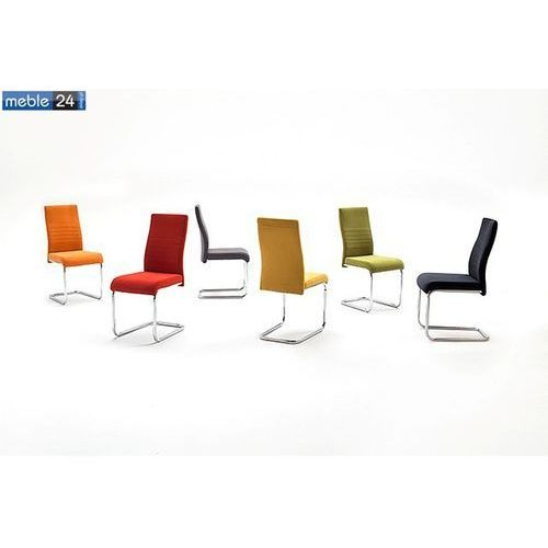 Krzesło chrom AURA MIX Różne Kolory