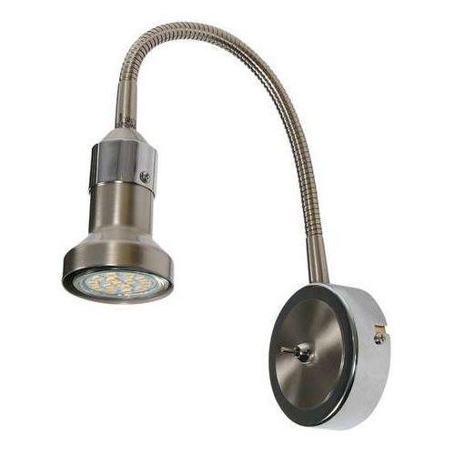 Candellux Arkon 91-60037 kinkiet lampa ścienna 1x50W GU10 nikiel / chrom