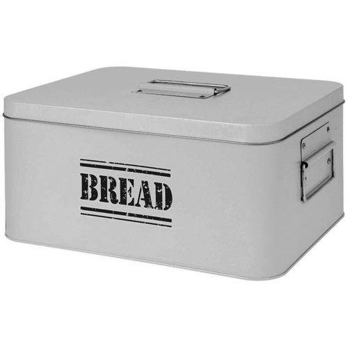 Eh excellent houseware Chlebak metalowy bin tin - chlebak z pokrywką, pojemnik na pieczywo