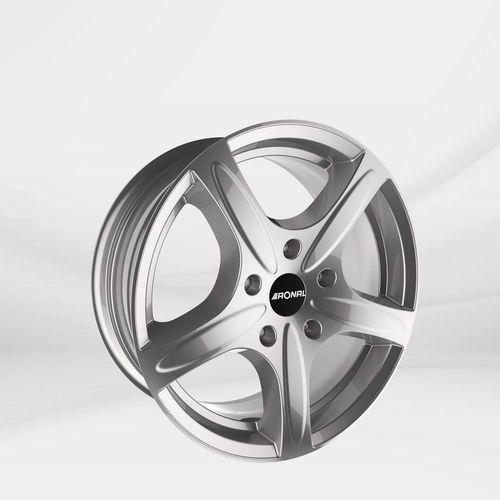 """Felgi Aluminiowe 17"""" RONAL 5X114.3 R42 - SREBRNY (4053881102093)"""