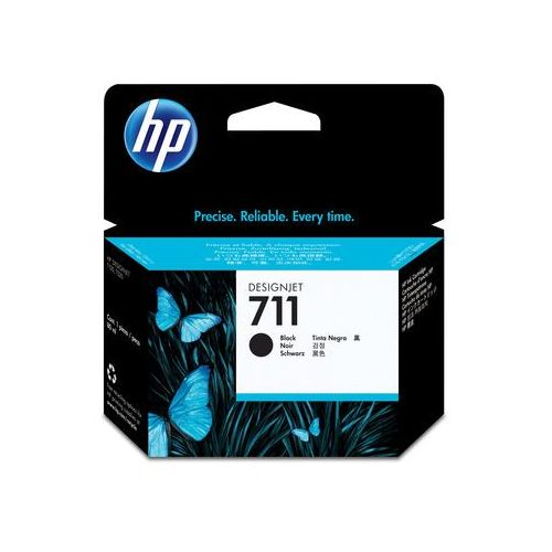 Hewlett-packard Hp oryginalny ink cz133a, no.711, black, 80ml, hp designjet t120, t520