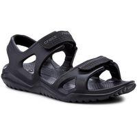 Sandały - swiftwater river sandal m 203965 black/black, Crocs, 39.5-42.5