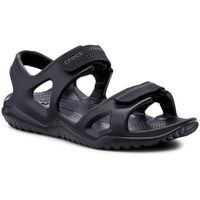 Sandały - swiftwater river sandal m 203965 black/black, Crocs, 39.5-46.5