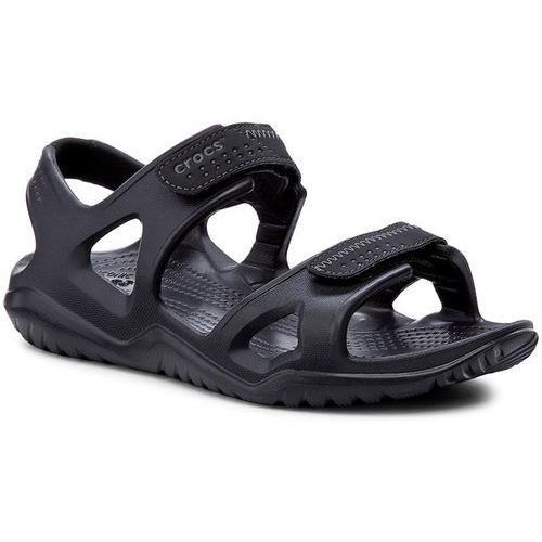Sandały CROCS - Swiftwater River Sandal M 203965 Black/Black